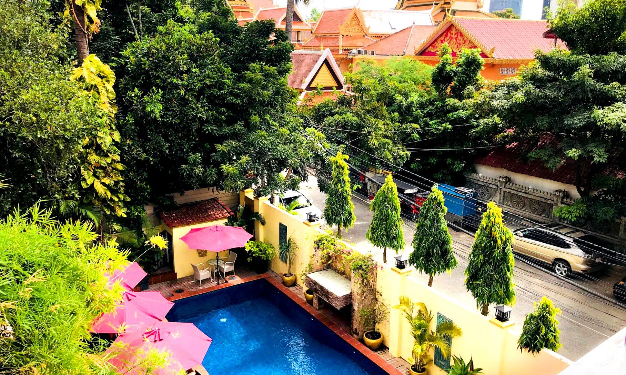 Villa Grange Boutique Hotel, Phnom Penh, Cambodia